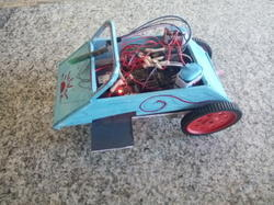 Bluetooth Wireless Accelerometer Based Speed Car Model