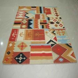 Patch Work Wool Kilim Rugs