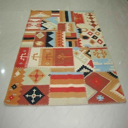Patch Work Wool Kilim Rugs Wool Rugs Sector 12 Noida Abida