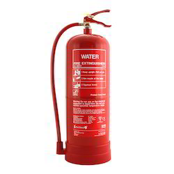 Safe Alart Water Type Fire Extinguisher, Capacity: 9ltr