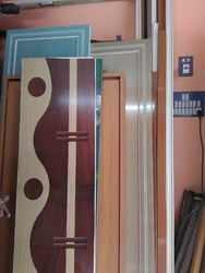 pvc design bathroom door