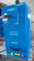 Front Loading Sanitary Napkin Incinerator Machine