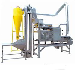 Split Peanut Peeling Machine, Capacity: 0-10 Kg/hr, 10-20 Kg/hr