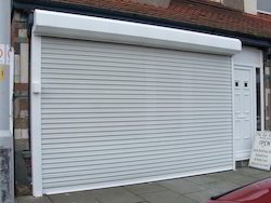 Full Height Automatic Rolling Shutters, Dimension/Size: 10 X 10 Meter (w X H)