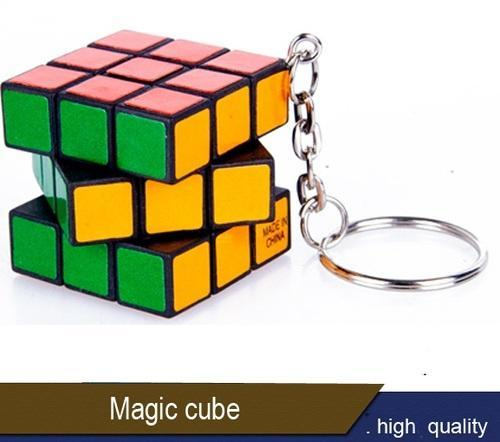 Rubik Cube With Key Chain   Logo 117ae981cc85