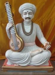 Marble Tukaram Statue