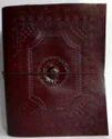 Leather Photo Album Embossed Stone Dori Closure