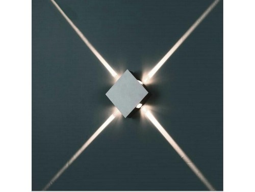 Abba 4w led nero beam surface square outdoor wall light at rs 2300 abba 4w led nero beam surface square outdoor wall light aloadofball Gallery