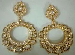 Kundan Meena Real Stone Jewellery