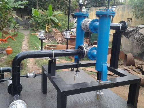 Steel Piping Skid