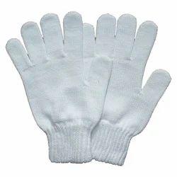 棉针织手手套40克,7号