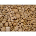 Sandstone Mix, Round Teakwood Unpolished Pebbles, Dimensions: 1-3inches, For Landscaping