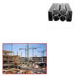 MS ERW Pipes for Construction Site