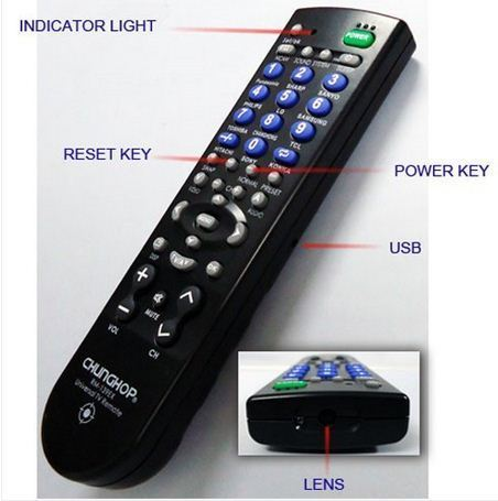 Spy Camera in Remote Control (Model No.643)