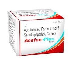 Aceclofenac, Paracetamol & Seratiopeptidase Tablets