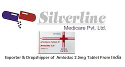 Amlodac 2.5mg Tablet