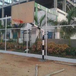 Basketball Hoop Pole