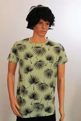 Four Round Neck Printed T-Shirts