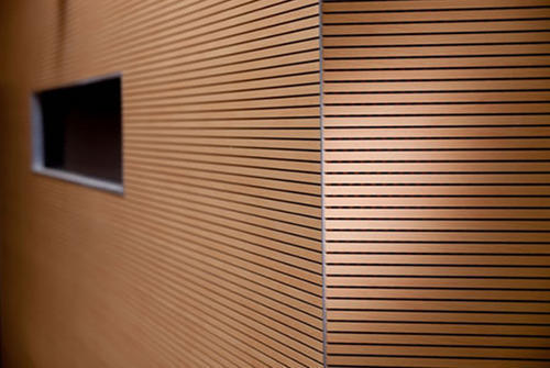 Wooden Grooved Acoustical Panel At Rs 200 Square Feet S