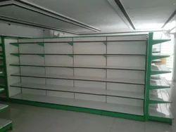 Supermarket End Unit - Metal Shelf