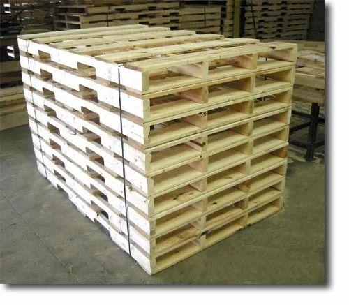 Export Wood Pallet, Wooden Pallets in Sikri Village ...