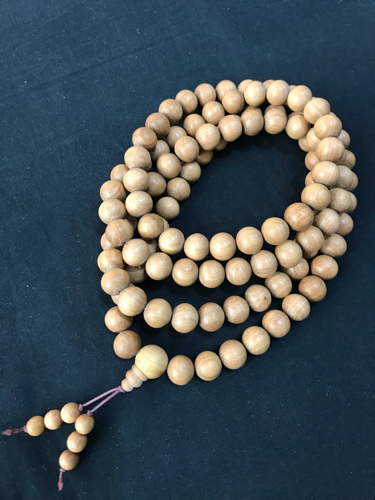sandalwood beads 108 japa mala