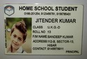 ID Card Acrylic Digital Printed