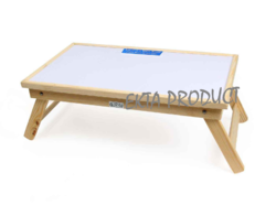 Wooden Folding Study Whiteboard Table.