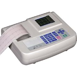 Channel ECG Machine, Digital, Number Of Channels: 3 Channels