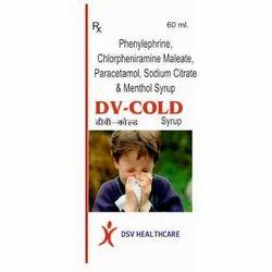 Phenylephrine Chlorpheniramine Maleate and Paracetamol Syrup