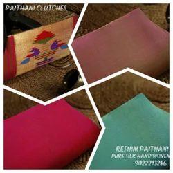 Pure Silk Hand Woven Paithani Handbags