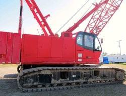 100 Tons Crawler Crane Rental Services