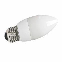 Cool White LED Candle Bulb