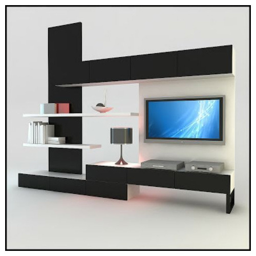 Incroyable Modern LED Panel TV Cabinet