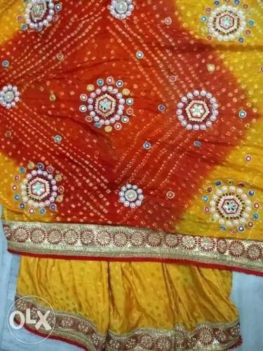 Self designed Georgette Designed Saree, Hand Made