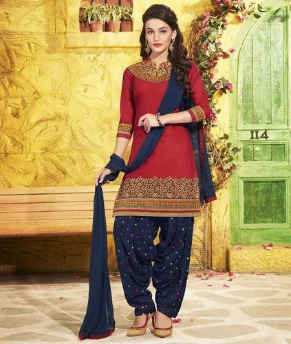 0a0c6236dd Patiala Dress Material at Rs 825 /piece | Saroligam | Surat | ID ...