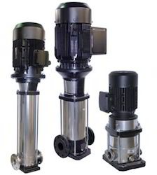 Ebara 30 Bar Vertical Multistage Pump, Max Flow Rate: 84