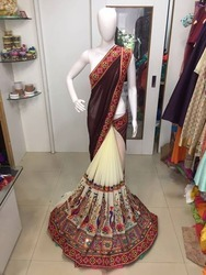 Exclusive Fancy Party Wear Designer Saree