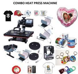 All in One Heat Press Machine - Combo Heat Press