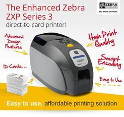 Aadhar Card Printer - Zebra ZXP 3