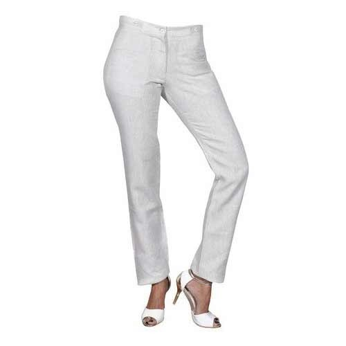eecfa1bfa35 Ladies Linen Trouser at Rs 950  piece(s)