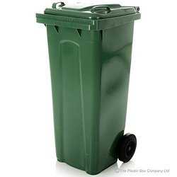 Closed Lid Waste Bins