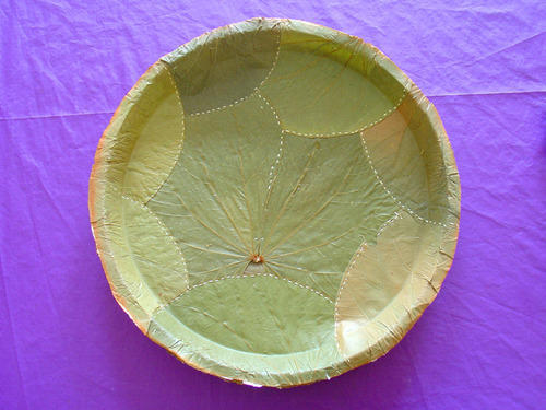 Leaf Thali Disposable Plate & Leaf Thali Disposable Plate at Rs 3 /piece | Gudlavalleru ...