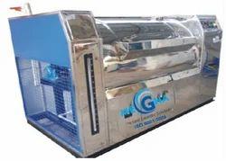 Textile Washing Machine, Capacity: 100 Kgs, Model Name/Number: Horizontal Washing Machine