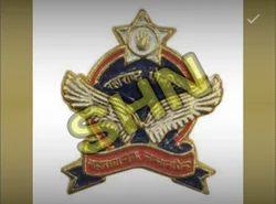 Engraved Metal Badge