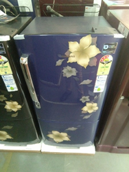 Blue Colour Refrigerator Samsung