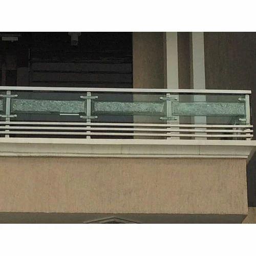 Designer Steel Balcony Grill Sahib Steel Fabricators