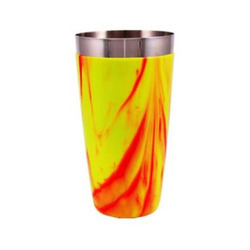 Orange Yellow PVC Shaker