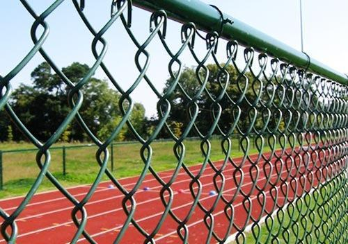 Chain Link Fences Industrial Chain Link Fences