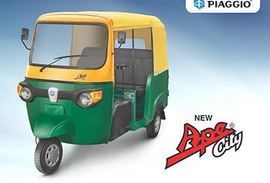 passenger - ape xtra dlx auto rickshaw authorized wholesale dealer